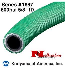"Kuriyama Hose,  800 psi 5/8"" ID Green"
