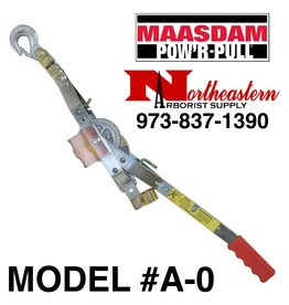 "MAASDAM POW'R-ROPE PULLER for 1/2"" Rope,  3/4 Ton Capacity with a 10 to 1 Leverage"