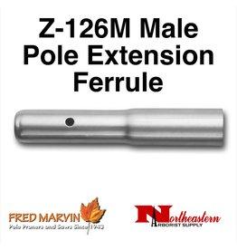 Fred Marvin Z-126M Male Pole Extension Ferrule