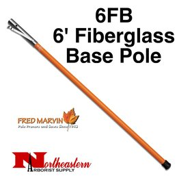Fred Marvin Marvin 6' Fiberglass Base Pole with End Cap
