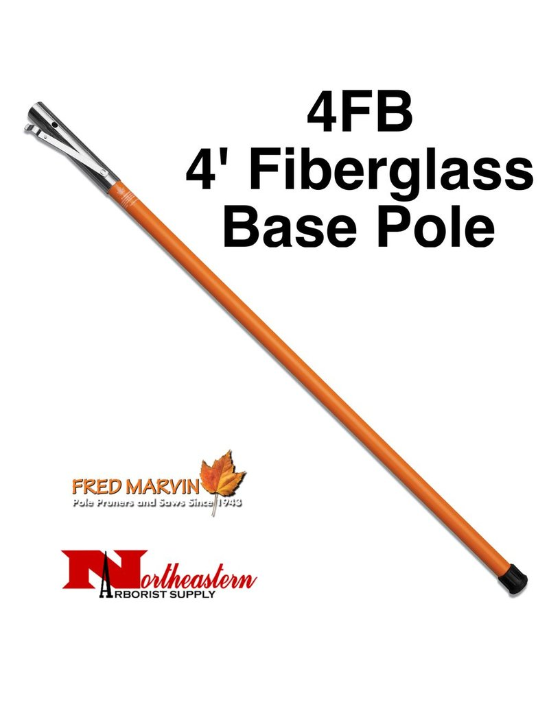 Fred Marvin Marvin fiberglass poles are lightweight and extremely durable. The wall thickness is 25% greater than the average pole to ensure a ridged feel. Bright orange coloring makes them easy to spot. <br />