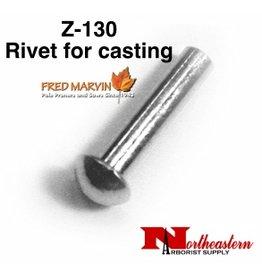 """Fred Marvin Pruner Head Rivit, 3/16"""" x 7/8"""" Z-130"""