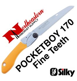SILKY PocketBoy Folding Saw, 170mm, Fine Teeth
