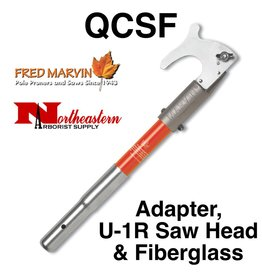 "Fred Marvin Saw Head with 10"" Fiberglass Adaptor"