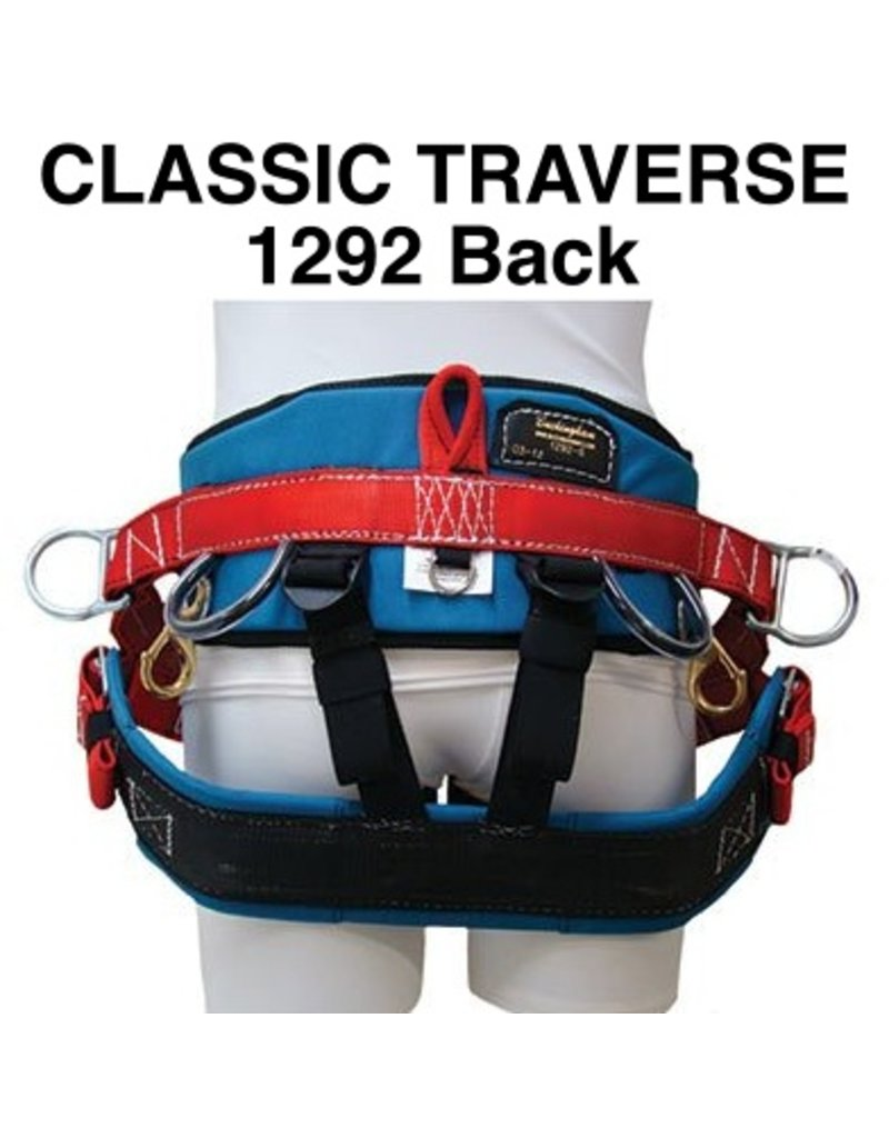 Buckingham Saddle, Traverse Classic, Medium with Tongue Buckle