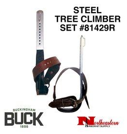 Buckingham Climber Set, Steel-Tree with Permanent Gaffs