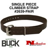 Buckingham Climber, Single piece nylon straps (Pair)