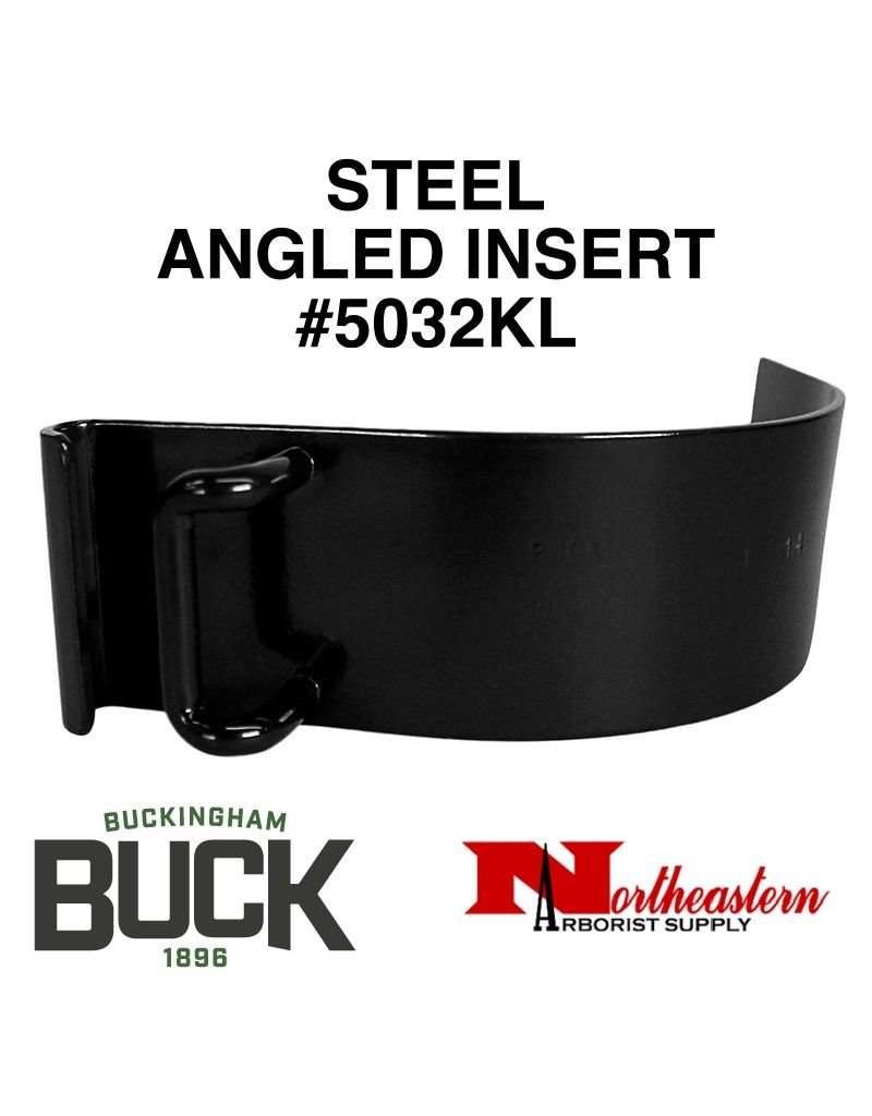Buckingham Climber, Replacement Angled Metal Inserts for Pads fit Klein