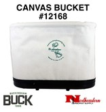 Buckingham Bucket truck, Canvas Oval Bucket #12168
