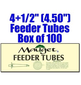 Mauget FEEDER TUBES (100) 4+1/2""