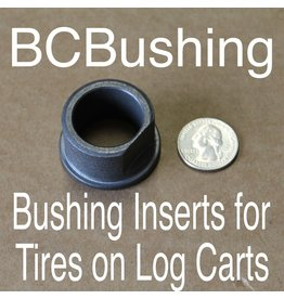 Border Concepts Bushing Inserts for Tires on Log Carts