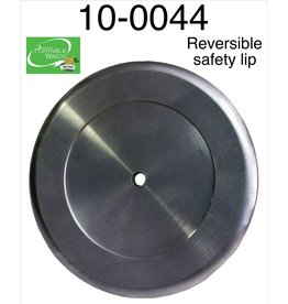 PORTABLE WINCH CO. Reversible safety lip is designed to fit both the 57 mm and 85 mm drums