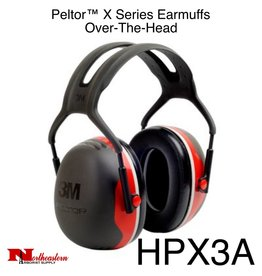 3M PELTOR X3A Over-the-Head Earmuffs