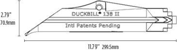 DuckBill Anchor Model 138