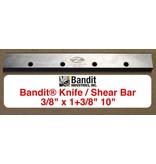 "Bandit® Parts Knife, Shear Bar 38"" thick x 1+3/8"" wide x 10"" Long, 259-3004-84"