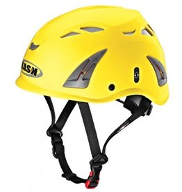 KASK Yellow Plasma Work Helmet with Adapter for Ear Defenders