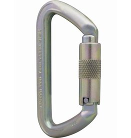 ISC SMALL IRON WIZARD 70kn MBS SUPERSAFE Steel Carabiner