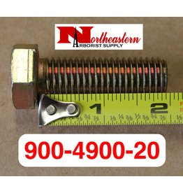 "Bandit® Parts Knife Bolt 5/8"" x 2"" Hex Head 1890 with 5/8"" KNIVES"