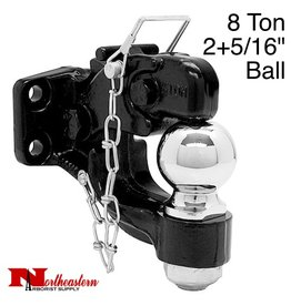 """Bandit® Parts Hitch Combination with 2+5/16"""" Ball, 8 Ton"""
