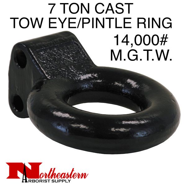"Bandit® Parts Pintle Ring/Tow Eye 3"" ID, 7 Ton M.G.T.W."