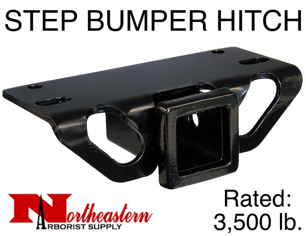 Bandit® Parts STEP BUMPER HITCH, Rated to 3,500# M.G.T.W.