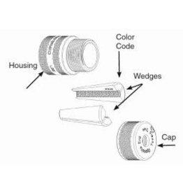 "Preformed Line Products WEDGE-GRIP™ Dead-End 3/8"" - Orange"