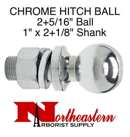 "Ball 2+5/16"", Replacement, Shank Diameter 1"" x 2+1/8"" Shank Length, 7,500# M.G.T.W."