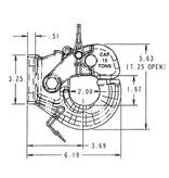 Bandit® Parts PINTLE HOOK 5 TON Light-Duty