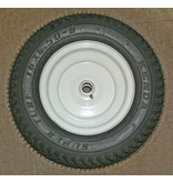 """Border Concepts Tire, Rim and Bushings for Log Cart's 16x6.50-8 1"""" axle Pneumatic"""