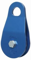 "CMI Block, Blue Anodized Aluminum sideplates, 2"" Aluminum sheave, Bearing, and Steel axle. 7,500# MBS"