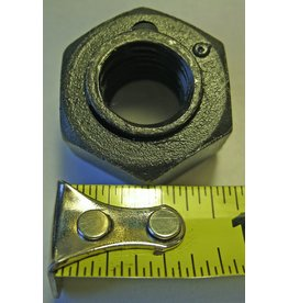 "Bandit® Parts Blade (Knife) Nut - Steel Lock 1/2"", 1/2-13 Thread, 70-80 lb·ft of  Torque, 7/8"" wrench size"