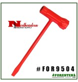 Forester The Chainsaw Adjusting Wrench (aka Scrench) is a multi-purpose tool primarily used to replace a spark plug or adjust the chain tension on your chainsaw, but it's versatility serves many purposes and is handy to have around. This economical tool should acc