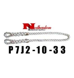 Buckingham HIP PRUSIK LOOP, 33″ eye to eye 1/2″ 3 strand nylon