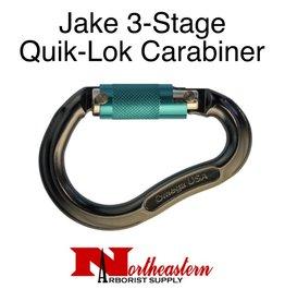 Omega Pacific Carabiner, Jake 3-Stage Quik-Lok