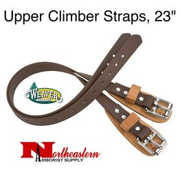 "Weaver Upper Climber Straps, 23"" coated webbing"