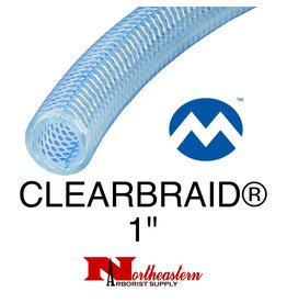 "Kuriyama Hose, Suction CLEARBRAID® 1"" ID"