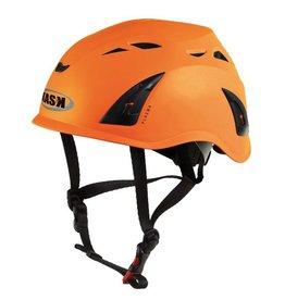 KASK Orange Plasma Work Helmet with Adapter for Ear Defenders