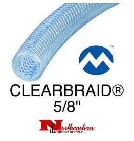 "Kuriyama Hose, Suction CLEARBRAID® 5/8"" ID"