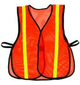 Work Area Protection VEST, TRAFFIC SAFETY REFLECTIVE