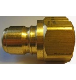 "PARKER HANNIFIN High Flow (Unvalved) Quick Nipple 3/4"" Female Pipe Thread"