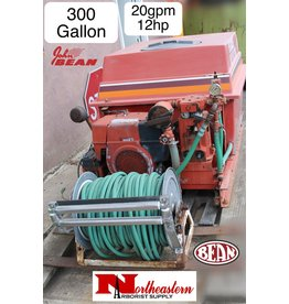 John Bean FMC 300 Gallon Rebuilt Sprayer and Reel, 12hp Kohler Engine, 20gpm Pump (R-20)