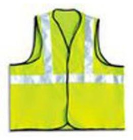 Work Area Protection VEST, TRAFFIC SAFETY, LIME GREEN