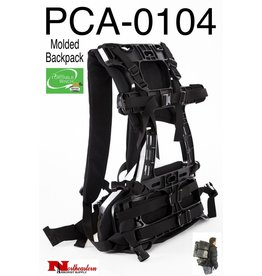 PORTABLE WINCH CO. Molded Packframe for Transport Case PCA-0102 & Carry All Bag PCA-0105