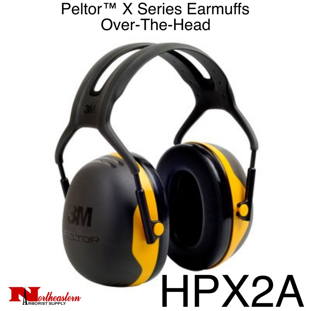 3M PELTOR X2A Over-the-Head Earmuffs, Dielectric