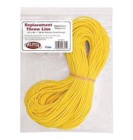 Weaver Yellow Polyethylene Slick Line, 150'