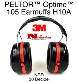 3M PELTOR Optime™ 105 Series Over-the-Head Earmuffs