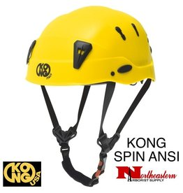 KONG Spin Helmet Yellow - ANSI Z89.1
