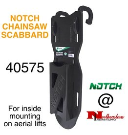 NOTCH Chainsaw / Bucket Scabbard for inside mounting on aerial lifts