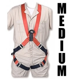 "Bashlin FULL BODY HARNESS Medium wth 24"" ""D"" Extension 5'8""-5'11"" 40"" chest"