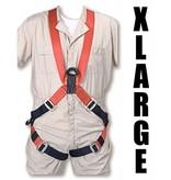 "Bashlin Full Body Harness, 683XC Series: ""X"" Style, XLarge"